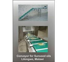 Conveyor For Sunseed Oils